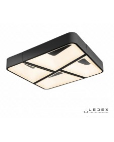 Потолочный светодиодный светильник iLedex LUMINOUS S1894/52 BK
