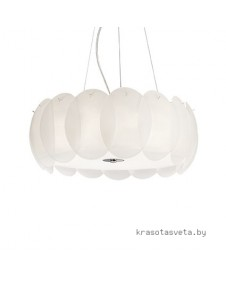 Светильник IDEAL LUX OVALINO SP8 BIANCO 090481