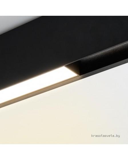 Магнитный трековый светодиодный светильник Arlight MAG-FLAT-45-L605-18W Day 4000K (BK) 026955