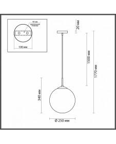Подвесной светильник Lumion SUMMER 4543/1