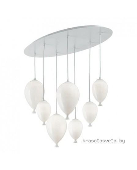 Светильник IDEAL LUX CLOWN SP7 BIANCO 100876