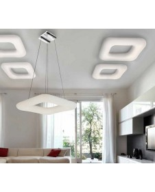 Настенно-потолочный светильник Azzardo DONUT SQUARE 46 AZ2664