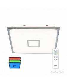 Потолочный светодиодный светильник с RGB подсветкой Citilux Старлайт CL703K80RGB