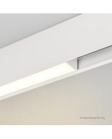 Магнитный трековый светодиодный светильник Arlight MAG-FLAT-45-L205-6W Day 4000K (WH) 026945