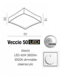Потолочный светильник Azzardo VECCIO 50 AZ2625