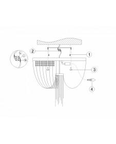 Люстра потолочная Favourite Chainomatic 1088-6U
