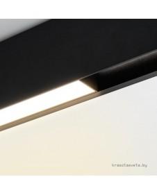 Магнитный трековый светодиодный светильник Arlight MAG-FLAT-45-L1005-30W Day 4000K (BK) 026963