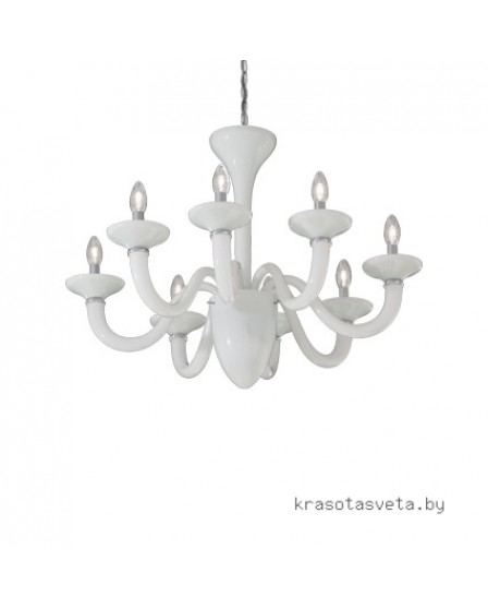Светильник IDEAL LUX WHITE LADY SP8 19390