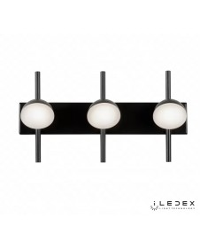 Бра, настенный светодиодный светильник iLedex INEFABLE X088209 9W BK