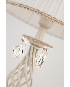 Лампа настольная Eurosvet Amelia 10054/1 белый с золотом