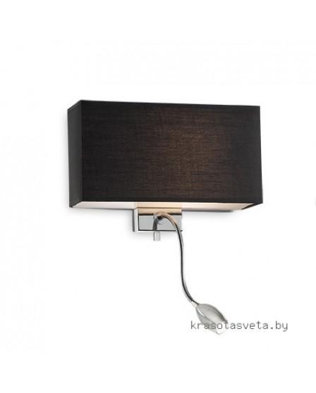Светильник IDEAL LUX HOTEL AP2 NERO 035956