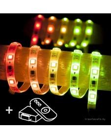 Комплект светодиодной ленты Elektrostandard Set Led Strip 5050 5m 12V 30Led 7,2 W RW IP65 Бегущая волна a034897
