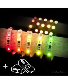 Комплект светодиодной ленты Elektrostandard Set Led Strip 5050 5m 12V 30Led 7,2 W RW IP20 Бегущая волна a034896