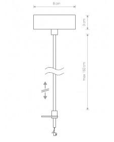 Трековый светильник Nowodvorski PROFILE POWER SUPPLY KIT Конечное питание для подвеса треков 9237