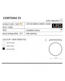 Потолочный светильник Azzardo CORTONA 55 AZ2745