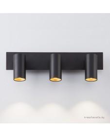 1Спот Eurosvet Fleur 20066/3 LED черный/золото