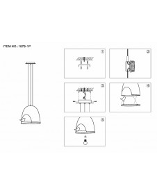 Светильник подвесной Favourite Volatore 1878-1P