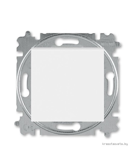 Выключатель одноклавишный ABB Levit белый / ледяной 3559H-A01445 01W