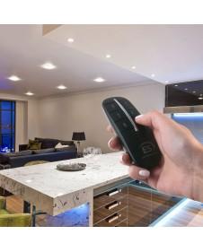 4-канальный контроллер для дистанционного управления освещением Elektrostandard Y8 Черный (4 канала) a040988
