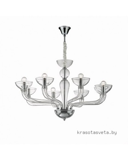 Светильник IDEAL LUX CASANOVA SP8 TRASPARENTE 044255