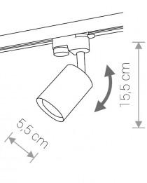 Трековый светильник Nowodvorski PROFILE EYE SPOT 9321