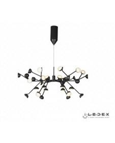 Люстра светодиодная подвесная iLedex INEFABLE X088301-100 BK