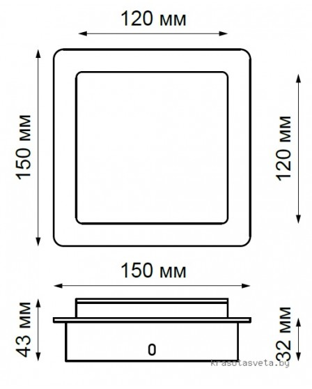 Бра, настенный светильник Novotech SMENA 357858