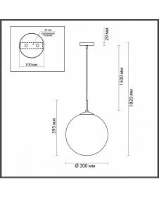 Подвесной светильник Lumion SUMMER 4543/1A