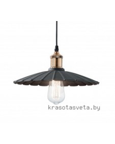 Светильник IDEAL LUX GOTHAM SP1 BIG NERO 134932