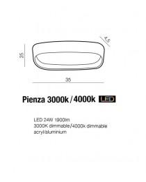Потолочный светильник Azzardo PIENZA AZ2719