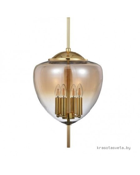 Светильник Crystal lux MILAGRO SP4 A GOLD 2470/204