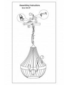 Подвесной светильник Favourite Terra 1800-3P