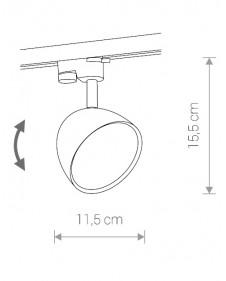 Трековый светильник Nowodvorski PROFILE VESPA 8824