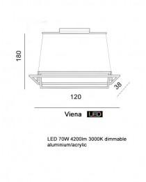 Подвесной светильник Azzardo VIENA AZ2911