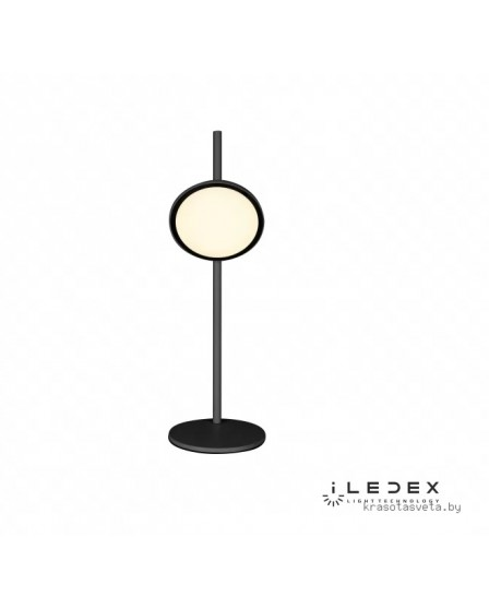Светодиодная настольная лампа iLedex SYZYGY F010110 BK