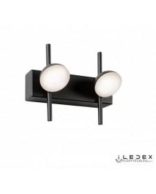 Бра, настенный светодиодный светильник iLedex INEFABLE X088206 6W BK