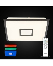Потолочный светодиодный светильник с RGB подсветкой Citilux Старлайт CL703K85RGB