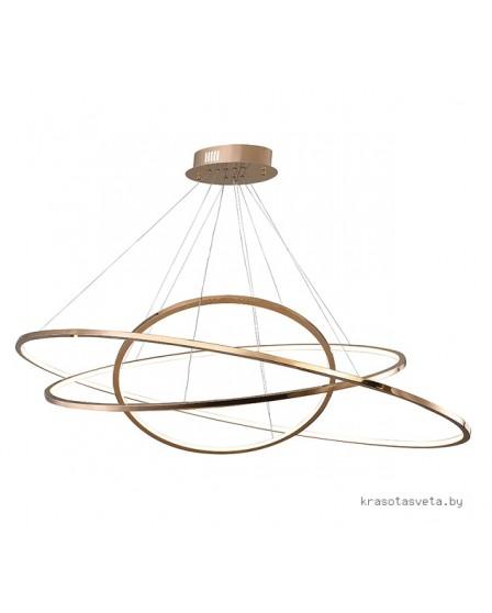 Подвесной светодиодный светильник Newport 15203/S rose gold