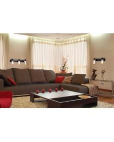 Спот Eurosvet Astoria 21130/2 хром/венге