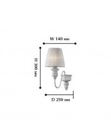 Бра, настенный светильник F-promo MIRAGE 1352-1W