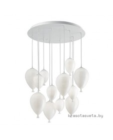 Светильник IDEAL LUX CLOWN SP12 BIANCO 100890