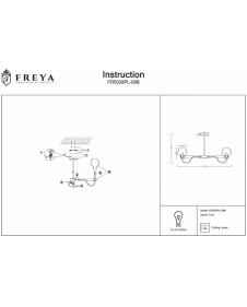 Потолочная люстра Freya Tara FR5028PL-08B