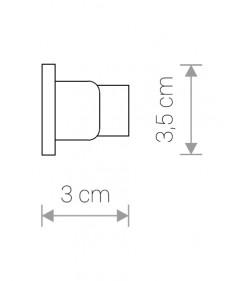Трековый светильник Nowodvorski PROFILE DEAD END CAP Заглушка 9457