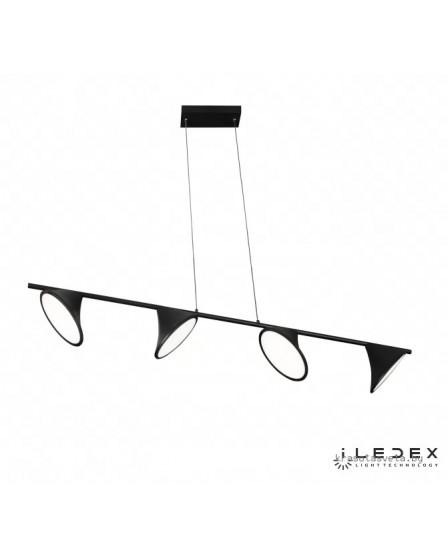 Подвесной светодиодный светильник iLedex SYZYGY X090140 BK