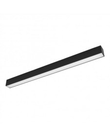 Магнитный трековый светодиодный светильник Arlight MAG-FLAT-45-L605-18W Warm 3000K (BK) 026954