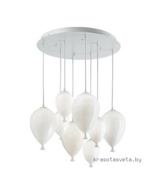 Светильник IDEAL LUX CLOWN SP8 BIANCO 100883